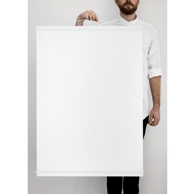 Moebe Poster Hanger Hvid 70x100