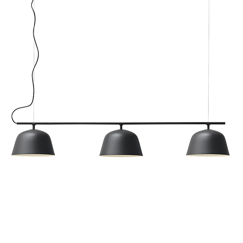 Muuto Lampe Ambit Rail Sort