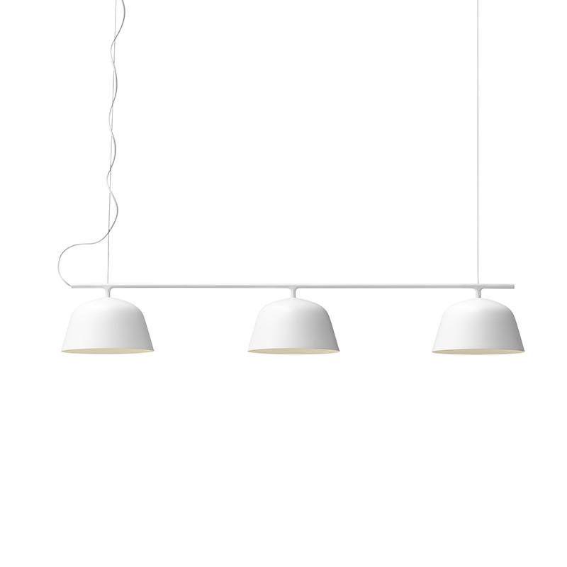 Muuto Lampe Ambit Rail Hvid
