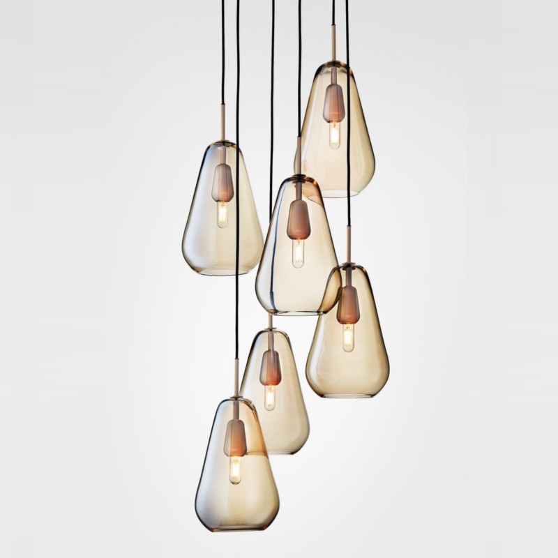 Nuura Anoli 6 Lampe Nordic Gold/Gold