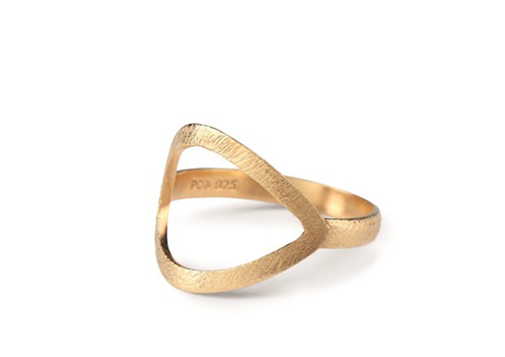 Pernille Corydon Drop Ring Guld