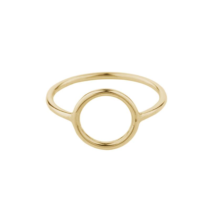 Pernille Corydon Halo Ring Small Forgyldt