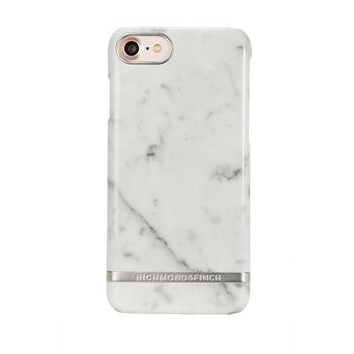 Richmond & Finch 7 iPhone - White Marble Silver
