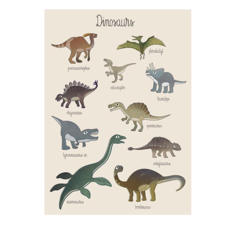 Sebra Plakat Dino