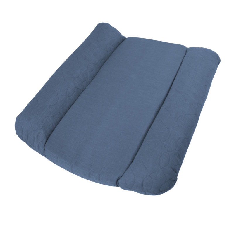 Sebra Quiltet Puslepude Royal Blue