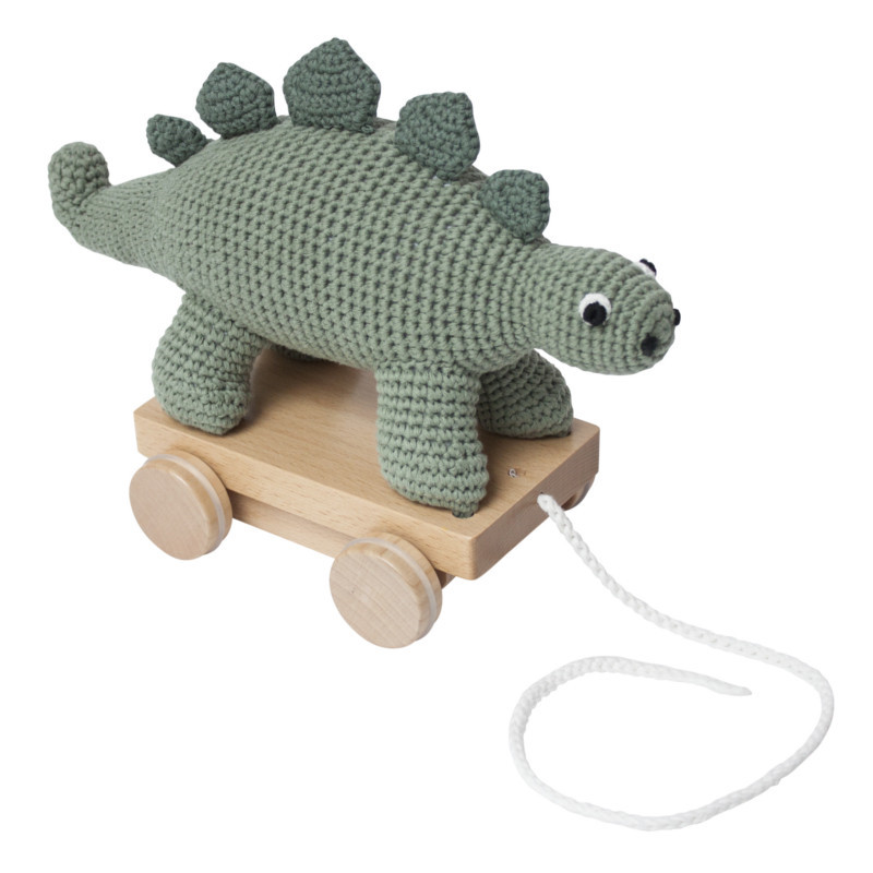 Sebra Hæklet Trækdyr Dino
