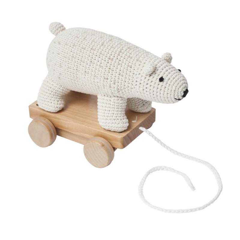 Sebra Hæklet Trækdyr Isbjørn