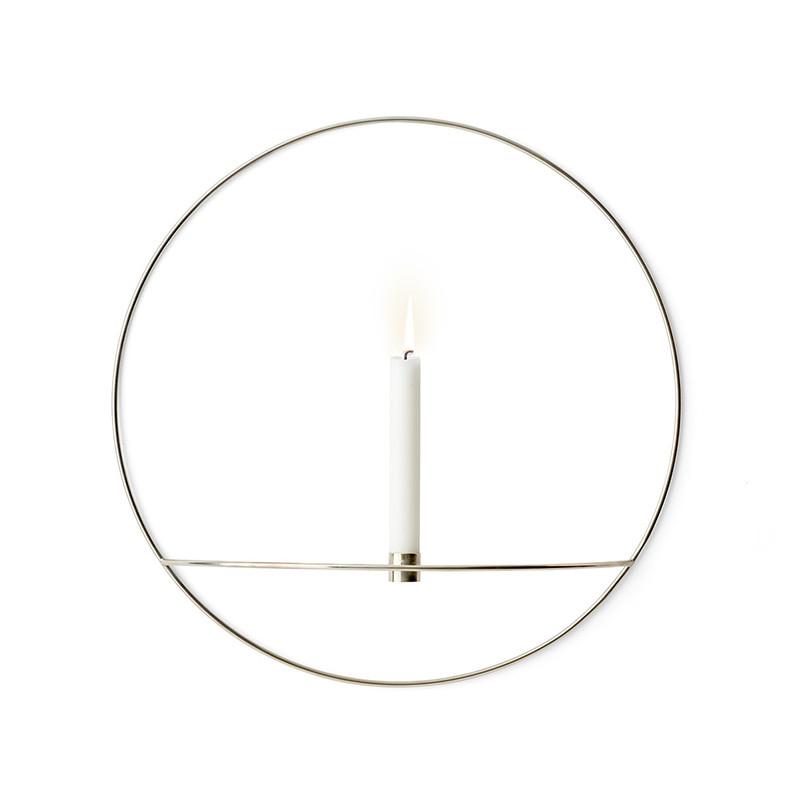 Menu POV Circle Candleholder Large, Sølv