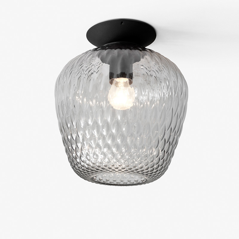 &Tradition Blown SW5 Loftlampe Sølv