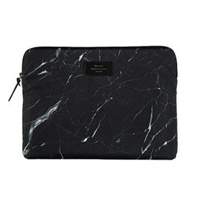 Woouf Macbook Pro Sleeve Sort Marmor