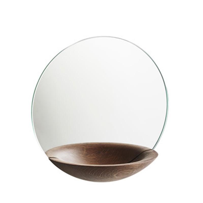Woud Pocket Mirror, Spejl i røget eg