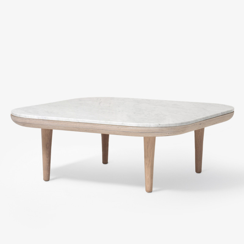 &tradition Fly Table SC4 Sofabord Bianco Carrara Marmor