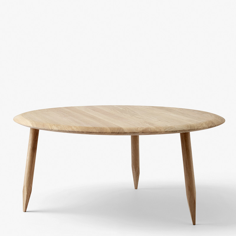 &tradition Sofabord, Hoof Table SW2 - Hvid Olieret Eg