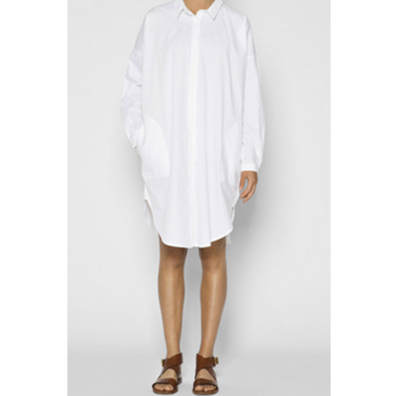 Aiayu Shirt Dress White