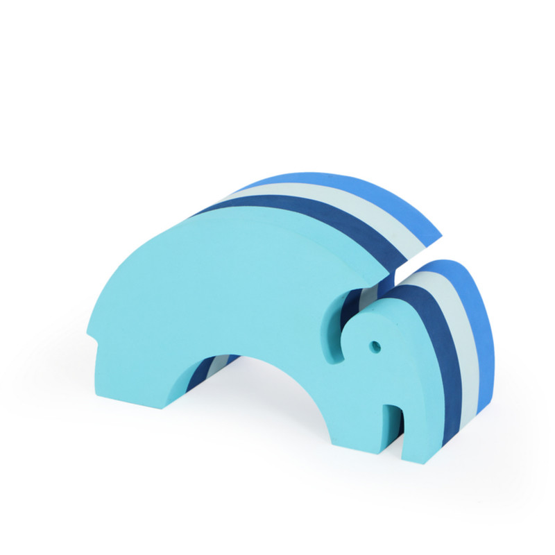 Bobles Elefant Mellem Multi Blå