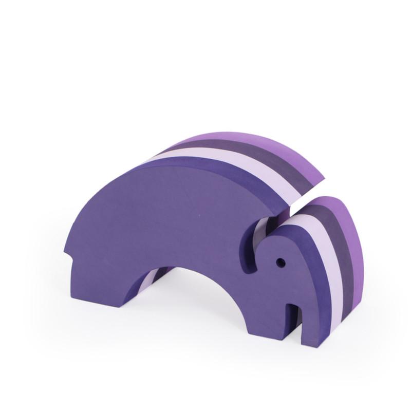 Bobles Elefant Mellem Multi Lilla