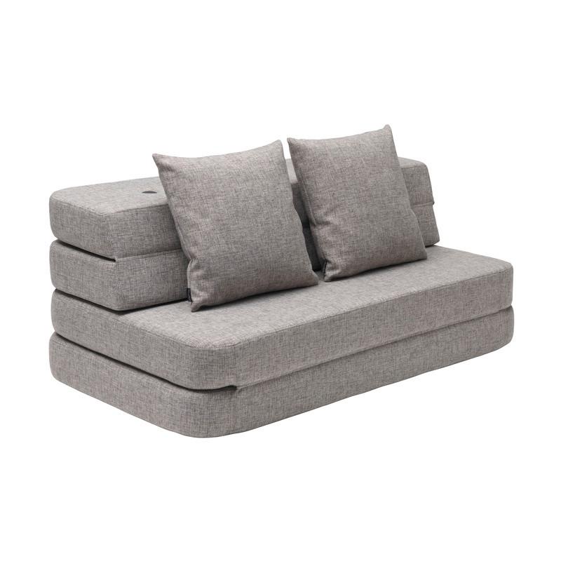 By KlipKlap KK3 Fold Sofa Multigrå XL