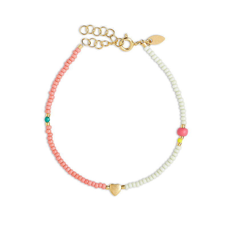 By Thiim Simplicity Deluxe Candy Heart Armbånd