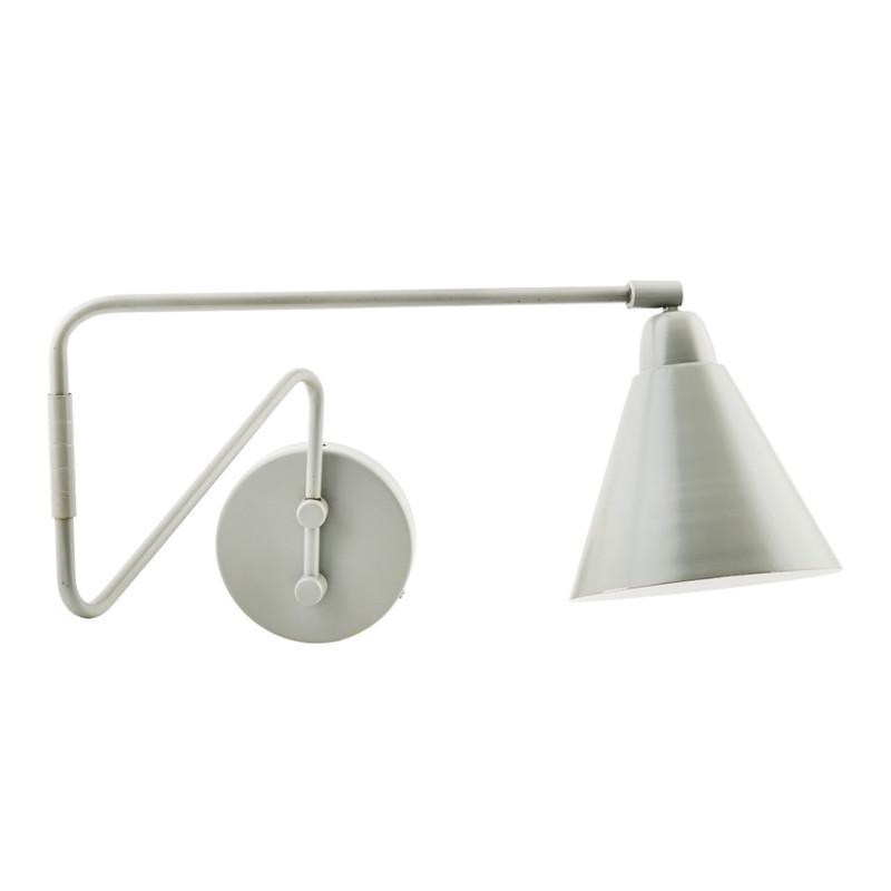 House Doctor Game Væglampe Grå-Hvid