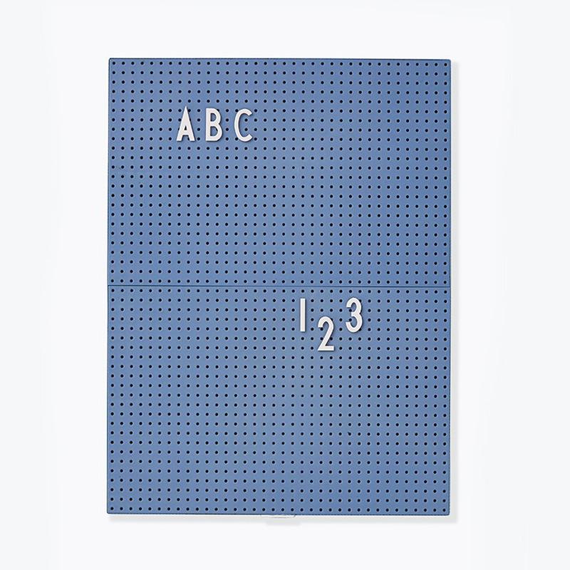 Design Letters Message Board opslagstavle Blå