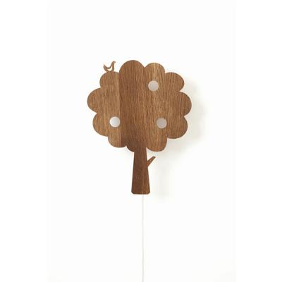 Ferm Living Tree Lamp Røget Eg