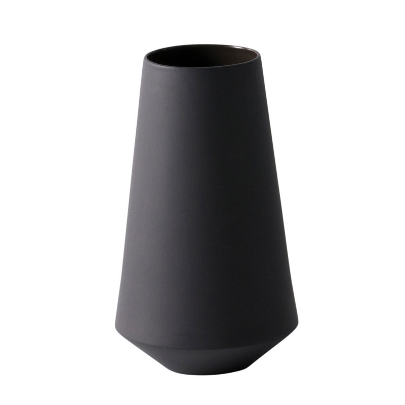 Ferm Living Vase Sculpt Well Mørkegrå