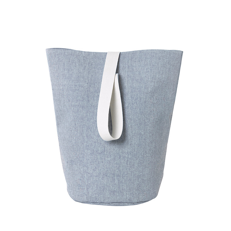 Ferm Living Chambray Vasketøjskurv Large