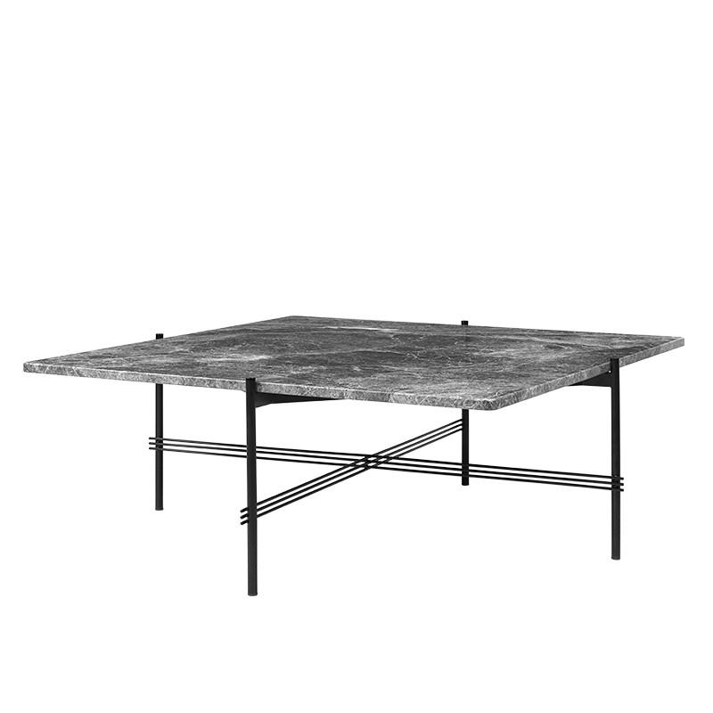 Gubi TS Table Square Grå Marmor