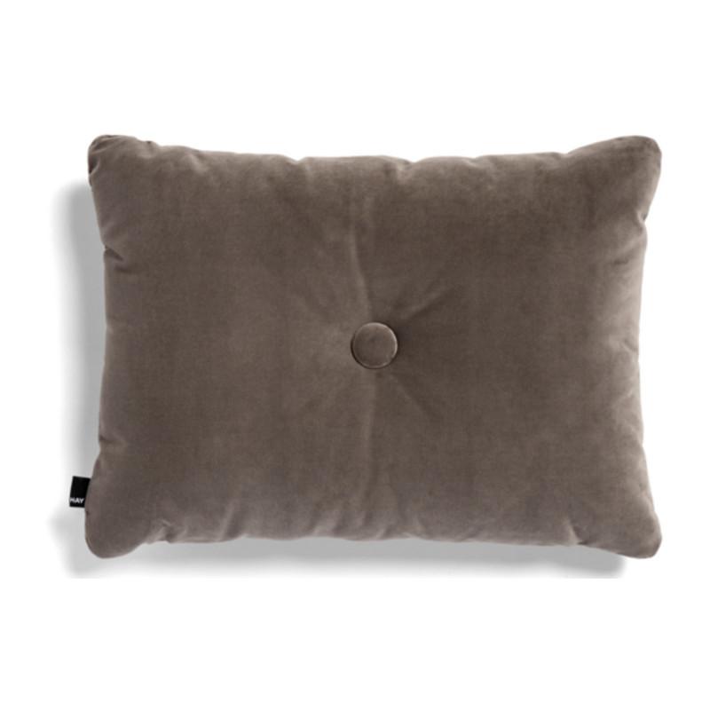 HAY Dot Cushion 1 Dot Soft Pude Warm Grey