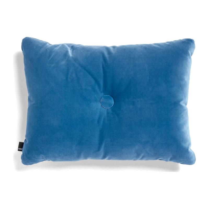 HAY Dot Cushion 1 Dot Soft Pude Blå