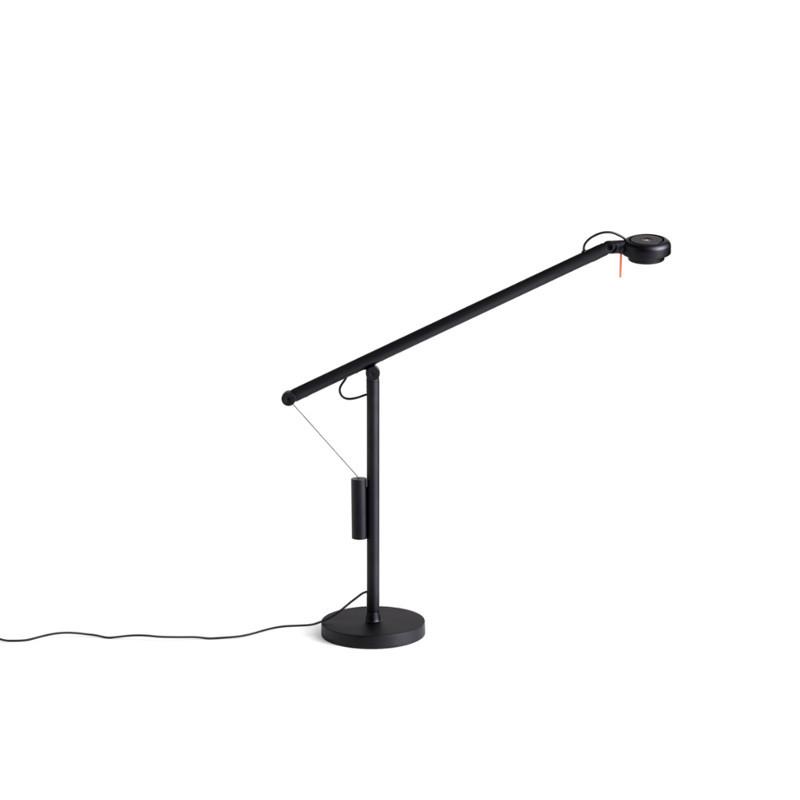 HAY Fifty-Fifty Mini Bordlampe Sort