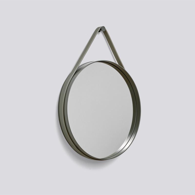 HAY Strap Mirror Spejl Ø50 Army