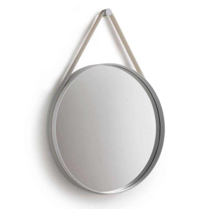 HAY Strap Mirror Spejl Ø70 Grå