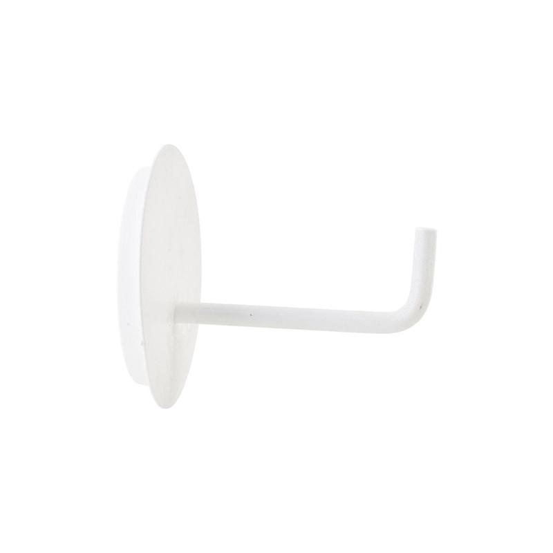 House Doctor Toiletpapirholder Text hvid