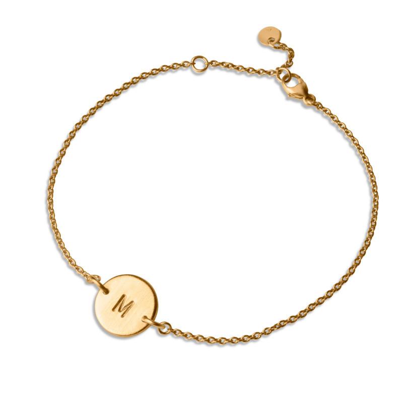 Jane Kønig Love Tag Armbånd Guld