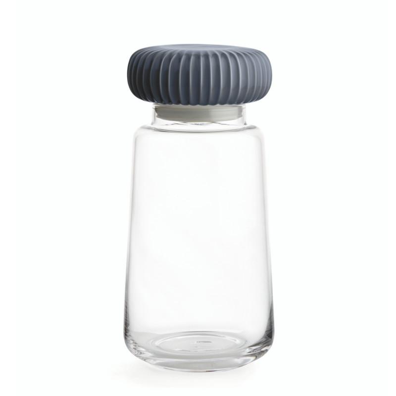 Kähler Hammershøi Opbevaringsglas Antracitgrå Stor