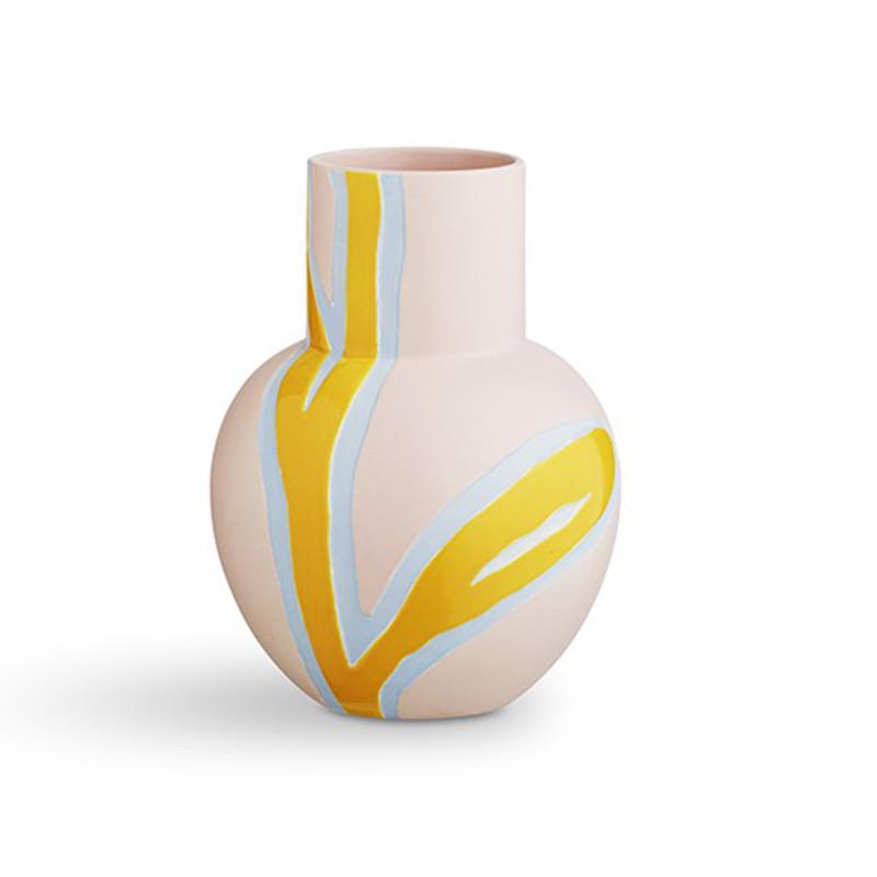stine goya vase fiora vase i pink fra k hler. Black Bedroom Furniture Sets. Home Design Ideas