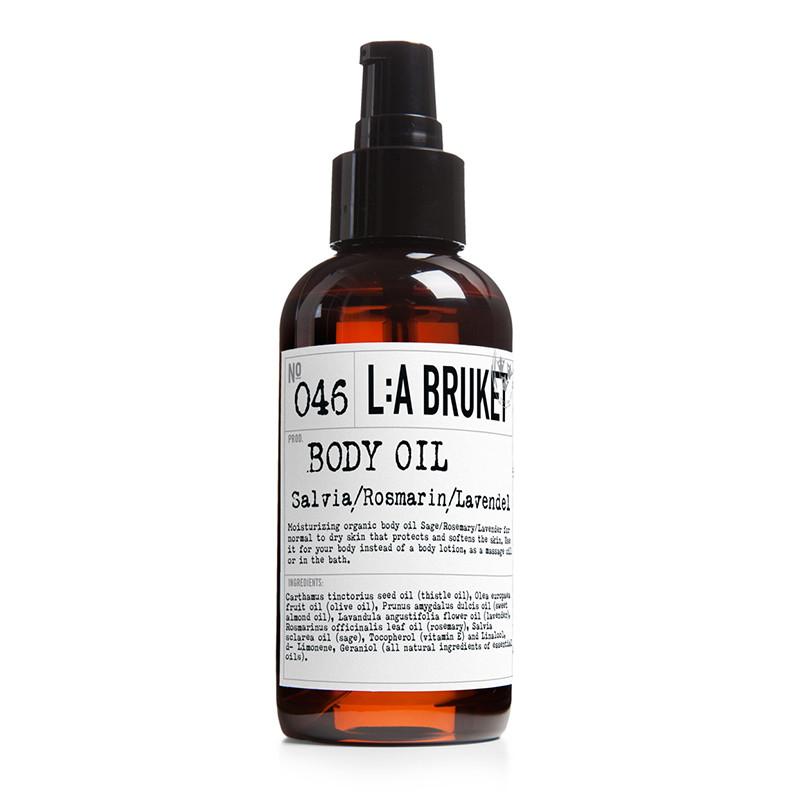 LA Bruket Body oil Salvie/rosmarin/lavendel 120 ml