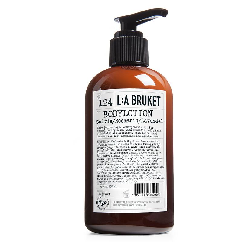 LA Bruket Bodylotion salvie/rosmarin/lavendel 250 ml