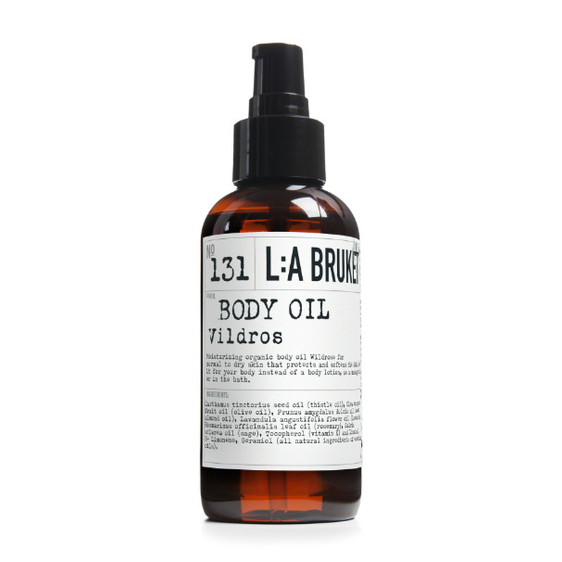 LA Bruket Body Oil Vildrose