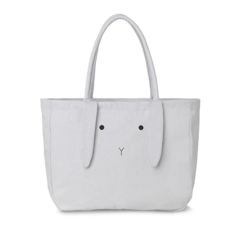Liewood Tote Bag Alberte Rabbit Dumbo Grey