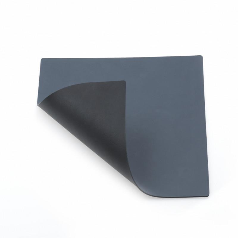 Lind DNA Glass Mat Square Double Mørk Blå-Sort
