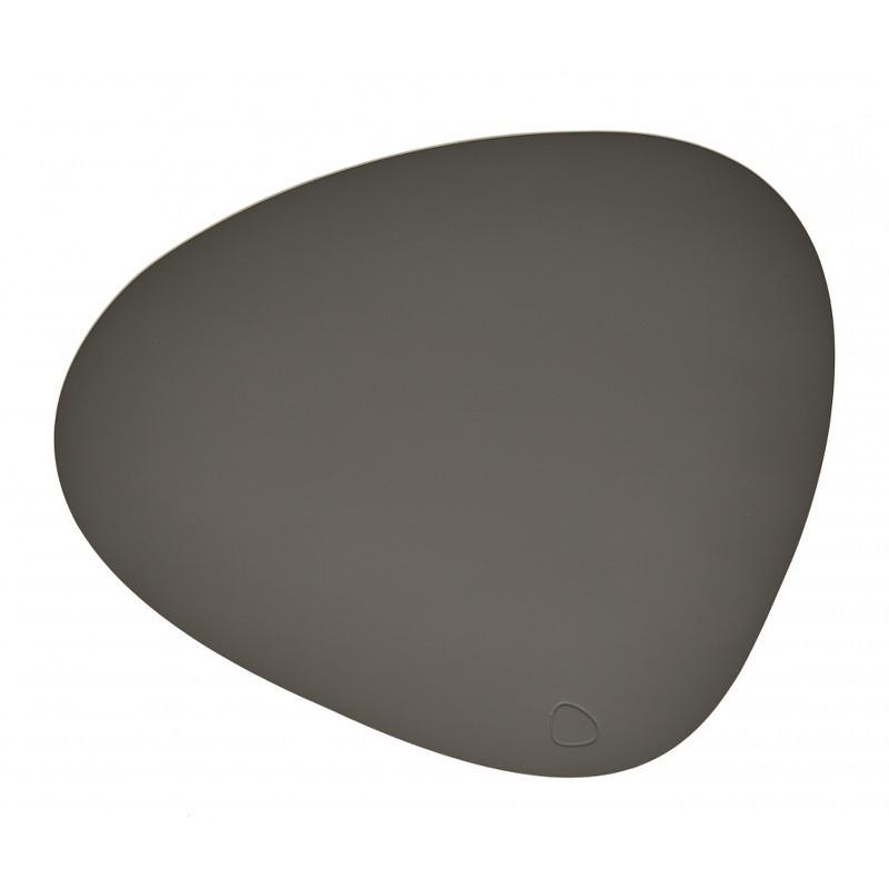 Lind DNA Tablemat Dækkeserviet Curve Dark Grey-Softbuck