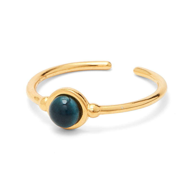 Louise Kragh Ring Marmor grøn