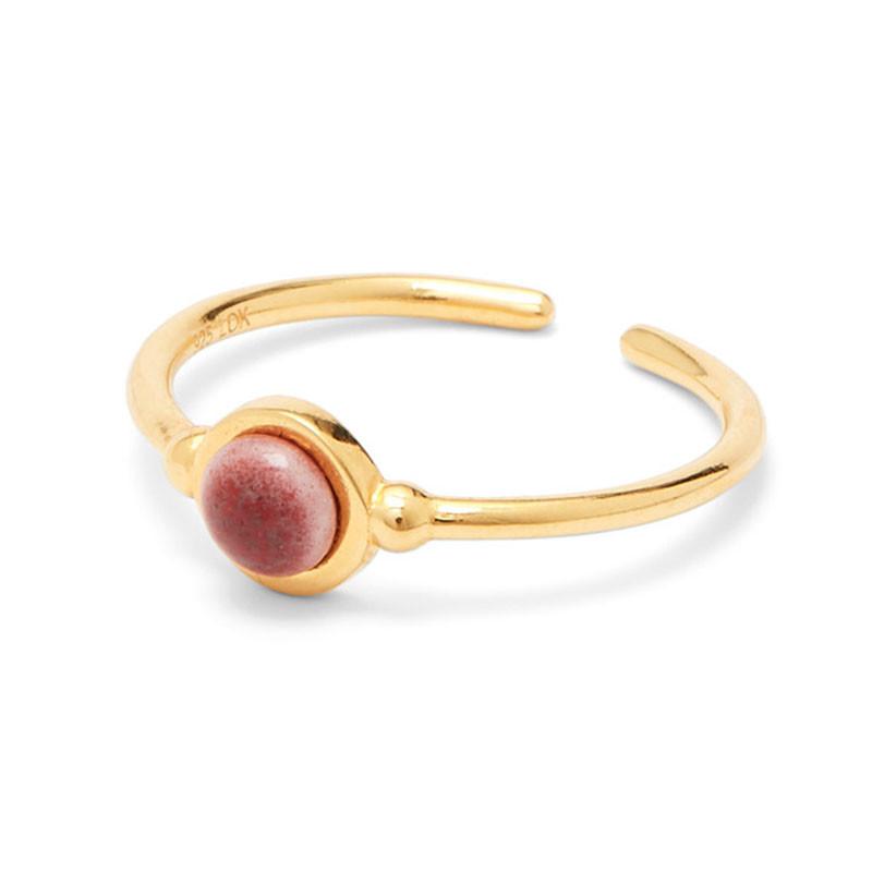 Louise Kragh Ring Plum
