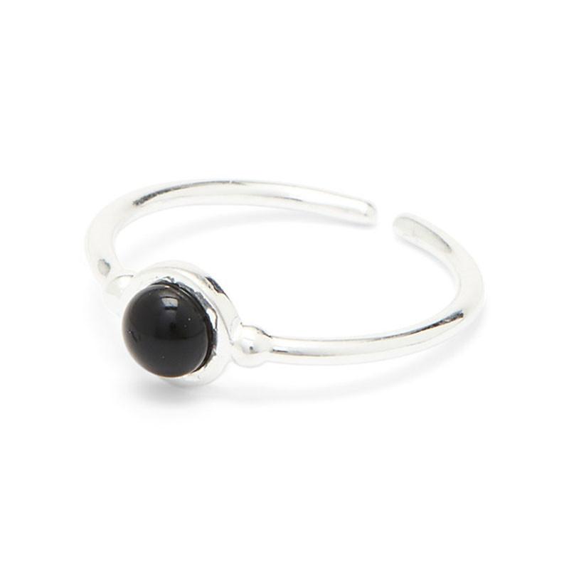 Louise Kragh Louise Kragh Ring sølv, sort