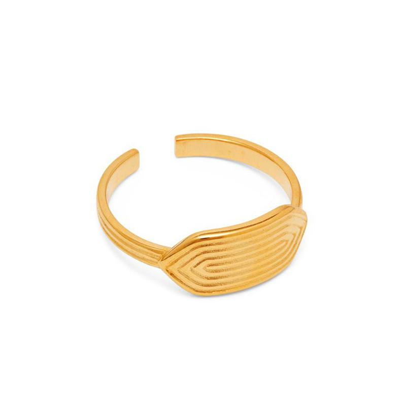 Louise Kragh Ring Maze Guld
