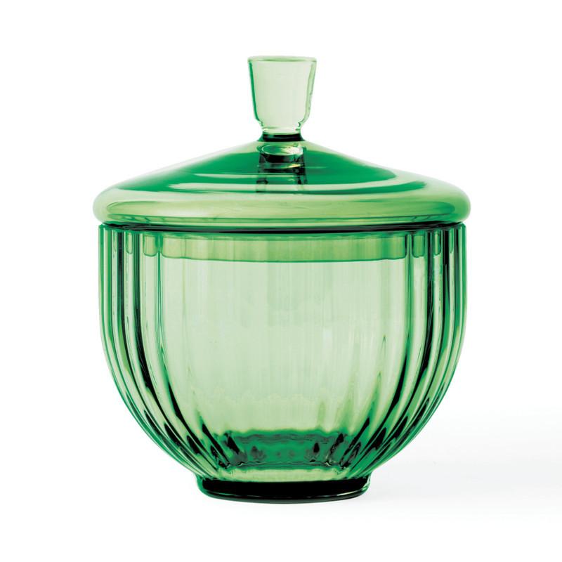 Lyngby Bonbonniere Glas Copenhagen Green