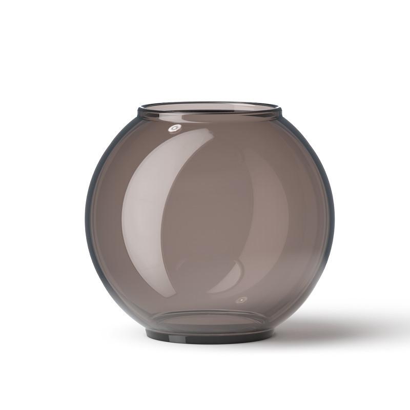 Lyngby Vase Form 70/2 Smoke