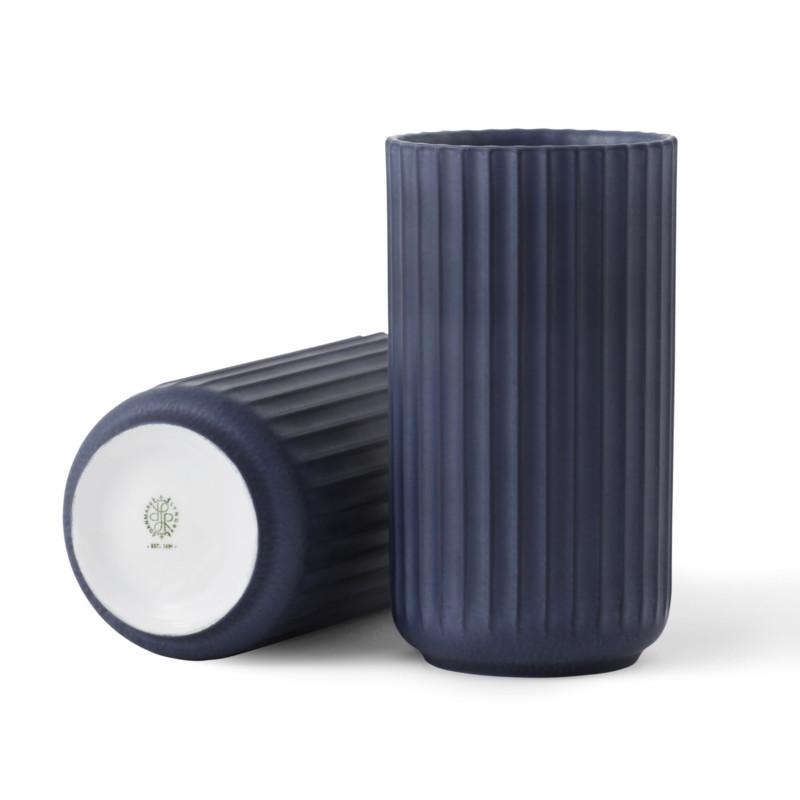 Lyngby Porcelæn Vase Midnatsblå